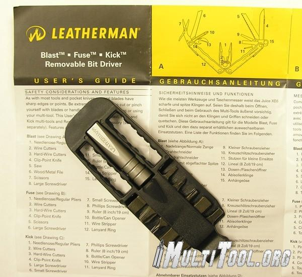 Leatherman Removable Bit Driver